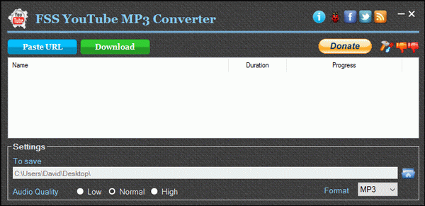 FSS YouTube MP3 Converter
