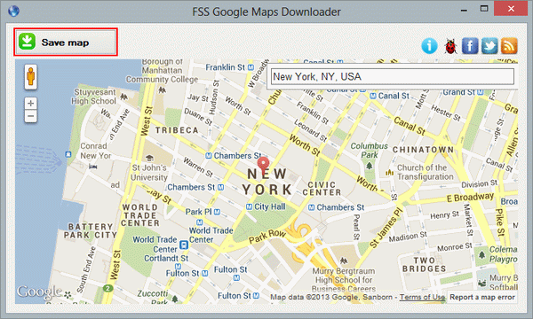 FSS Google Maps Downloader